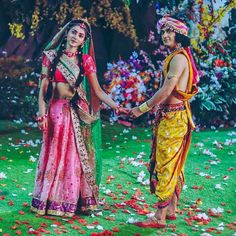 Image may contain: 2 people, people standing and outdoor Radha Krishna Holi, Radha Krishna Love Quotes, Krishna Leela, Cute Krishna, Jai Shree Krishna, Radha Krishna Pictures, Krishna Photos, Krishna Art, Radhe Krishna Wallpapers