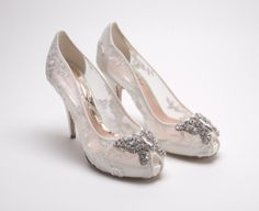 dda0611e28bc Aruna seth wedding shoes Silver Wedding Shoes