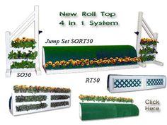 RT50 - PVC Horse Jumps Roll Top