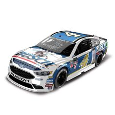 Kevin Harvick Action Racing 2017 #4 Busch Darlington 1:24 Monster Energy NASCAR Cup Series Autographed Die-Cast Ford Fusion