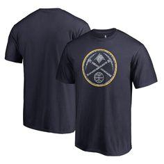 Denver Nuggets Fanatics Branded Static Logo Big and Tall T-Shirt - Navy