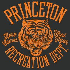 Princeton Tigers | Frank Ozmun Graphic Design | Chicago