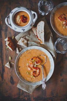 Spicy Shrimp Corn Chowder #foods #recipes