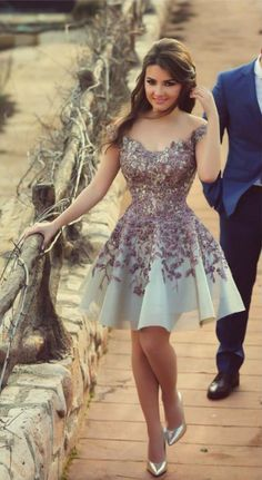 plateado vestido dress dresses diseño boda invitada blanco white pink rosa floreado bordado