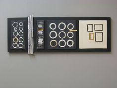 Black Wall Panel: Lori Katz: Ceramic Wall Art - Artful Home
