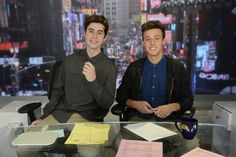 They were on Good Morning America<<< when did this happen ?!?!?!