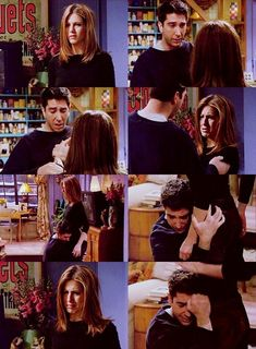 Ross & Rachel: The Breakup. One of the saddest and most powerful scenes on tv... Ever.