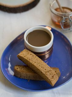 Biscotti is often a rock-hard, coffeehouse cookie, but when made properly - it's a delicious coffee companion.