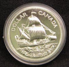 1979 Canada Dollar Griffon Tricentennial Coin BU Free by OlyTrader
