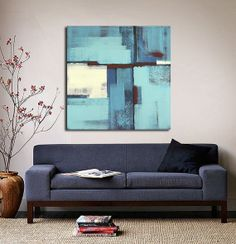 ABSTRACT Painting ORIGINAL Painting Acrylic by ARTbyLESTstudio, $235.00
