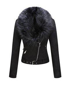 Faux Suede Fur Collar Jacket Suede Shorts, Leather Shorts, Leather Jacket, Suede Jacket, Suede Leather, Moto Jacket, Fur Collar Jacket, Faux Fur Collar, Fur Collars