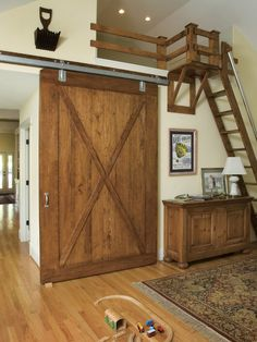 Sometimes you have to create a cool loft for playing, love the extension to provide easier access to the ladder.