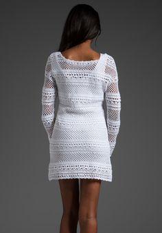 Vestido tejido a crochet de algodón | Yo Utilísima