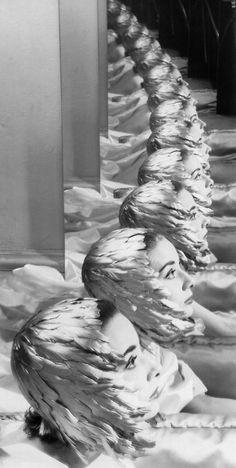 Erwin Blumenfeld: Audrey Hepburn. New York, 1950.