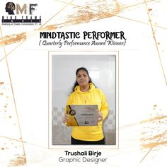 """Meet the young and dynamic but naught and bold Trushali Birje who won the """" Best Rookie """" award in and she sets an example of how one can lead from front in all dire situations .We all are proud of her contributions and achievements. Social Media Marketing, Digital Marketing, Creative Communications, Award Winner, Mumbai, Adobe, Awards, Branding, Meet"""