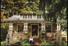 Great little craftsman house!