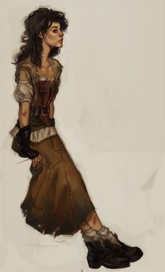 PERPLEXINGLY: This Eponine but in a different style #eponine #lesmiserables #fanart