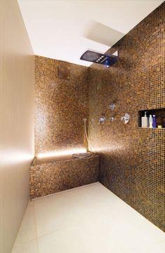 ideen badgestaltung kleiner raume fliesen creme farbe   wohnideen ... - Wohnideen Small Bathroom