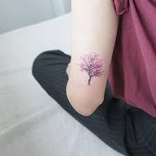 Resultado de imagem para tatuagem arvore cerejeira