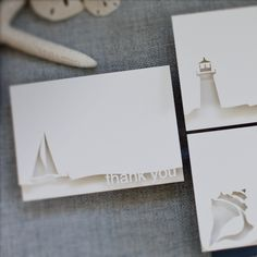 modern laser-cut stationery & cards for all occasions 3d Cards, Pop Up Cards, Paper Cards, Cute Cards, Kirigami, Shilouette Cameo, Laser Cut Paper, Nautical Cards, Paper Engineering