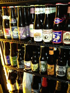 Grab a snack and choose from a selection of over 20 draft and 300-plus bottles of beer.