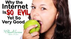 Imagine a world without Facebook, Twitter, Instagram and YouTube.    A world without pokes, friend newsfeeds, images of everything we do and eat.   Hey!  That's not so bad.   Or is it?  On this episode of The Short Version, Jordan tells us why the Internet is evil, yet so very good.