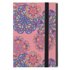 Colorful Mandala Flowers Pattern Case For iPad Mini - spring gifts beautiful diy spring time new year