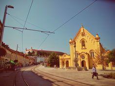 Bratislava, mid August, 2014, Julius B. Young