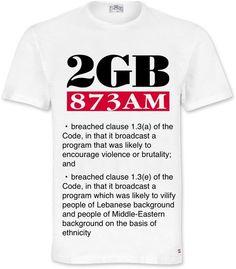 Shockjock T-shirt #auspol