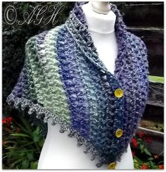 Dawn Treble Mesh Shawl by aghandmades   Crocheting Pattern - Looking for your next project? You're going to love Dawn Treble Mesh Shawl by designer aghandmades. - via @Craftsy