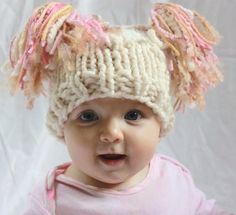 Irish Knitted Jester Hat For Newborn in Bobble Pattern.  by GMolly, $24.00