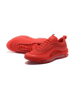 huge discount 2b980 449ec Men s Nike Air Max 97 OG GS All Red Shoes New Nike Air, Cheap Nike
