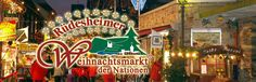 Rudesheim Christmas Market | Drive:  Just over an hour away from the KMC Area | Duration:  This market will typically run most of December.