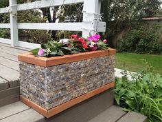 Planter made from recycled granite. SaveTheGranite.com