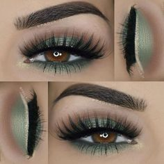 So pretty!! #Repost @paola.11 St. Patrick's day inspired look Details: ___ ღ Eyeshadows: @bhcosmetics 88 color matte palette ___ ღ Lashes: @amyjunelashes in Jasmine ___ ღ Eyebrows: @motivescosmetics Essential Brow Kit #MotivesCosmetics #makeup #mua #beauty