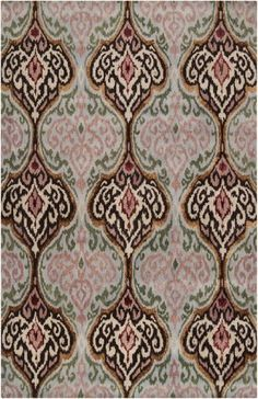 8' x 11' Verrouillés Lustre Asparagus Green and Dusty Pink Wool Area Throw Rug by Diva At Home, http://www.amazon.com/dp/B00CHU7L5I/ref=cm_sw_r_pi_dp_CTNSrb1398E7R