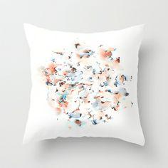 Signals Throw Pillow by Okti - $20.00