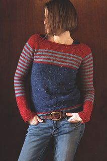 notes on myso-calledhandmadelife: Feb complete! Dec knitting striped sleeves two-at-a-time Dec Sleeeeeeves! Relaxed Outfit, Sweaters And Jeans, Knitting Designs, Pulls, Oct 11, Dec 12, Knitwear, Knitting Patterns, Knit Crochet