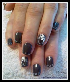 B 27 by valera - Nail Art Gallery nailartgallery.nailsmag.com by Nails Magazine www.nailsmag.com #nailart