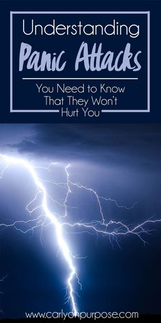 Suffering from Panic Attacks? You need to understand them in order to beat them. You DON'T need to live with them!