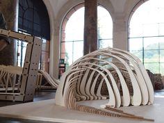 Maquette progetto Woodlab - mostra al castello del Valentino, via Flickr.