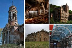 5 (More) Amazing Pillars of the Abandoned World: From Grand Theatres and Asylums to Stately Homes