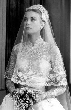 Grace Kelly - Gina Conway's Wedding Moments #wedding #bridalhair