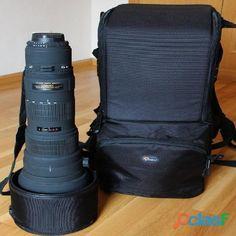 Sigma 300   800 mm f5.6 APO EX DG HSM Nikon mount lens Lowepro