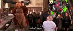 And when she'd just finished filming the scene where Molly Weasley kills Bellatrix, and then said this. | 17 Times Julie Walters Proved She's The True Queen Of Britain