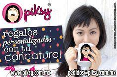 DISEÑOS PIKSY - te caricaturizamos y te hacemos parte de hermosas sorpresas! www.piksy.com.mx