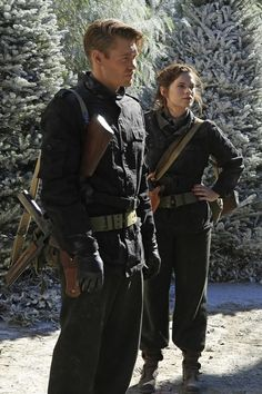 Chad Michael Murray and Hayley Atwell | Marvel's Agent Carter LOVE LOVE LOVE Chad Michael Murray in the show! Never was a huge fangirl, but hes amazing in this role! :-)