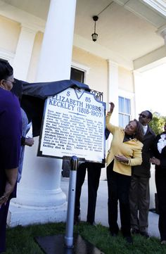 DINWIDDIE — New marker honors former slave Elizabeth Hobbs Keckley, a Virginia native who bought her freedom in 1855 and became a White House confidant to Mary Todd Lincoln. Richmond Times-Dispatch