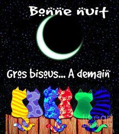 Bonne nuit, Gros bisous... À demain! #bonnenuit