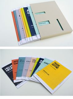 2009: Type Specimen Portfolio on SVA Portfolios